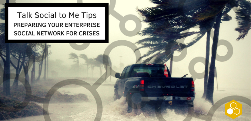With the right preparedness, your enterprise social network can serve as a valuable resource for keeping tabs on your colleagues and sharing wisdom during crises.