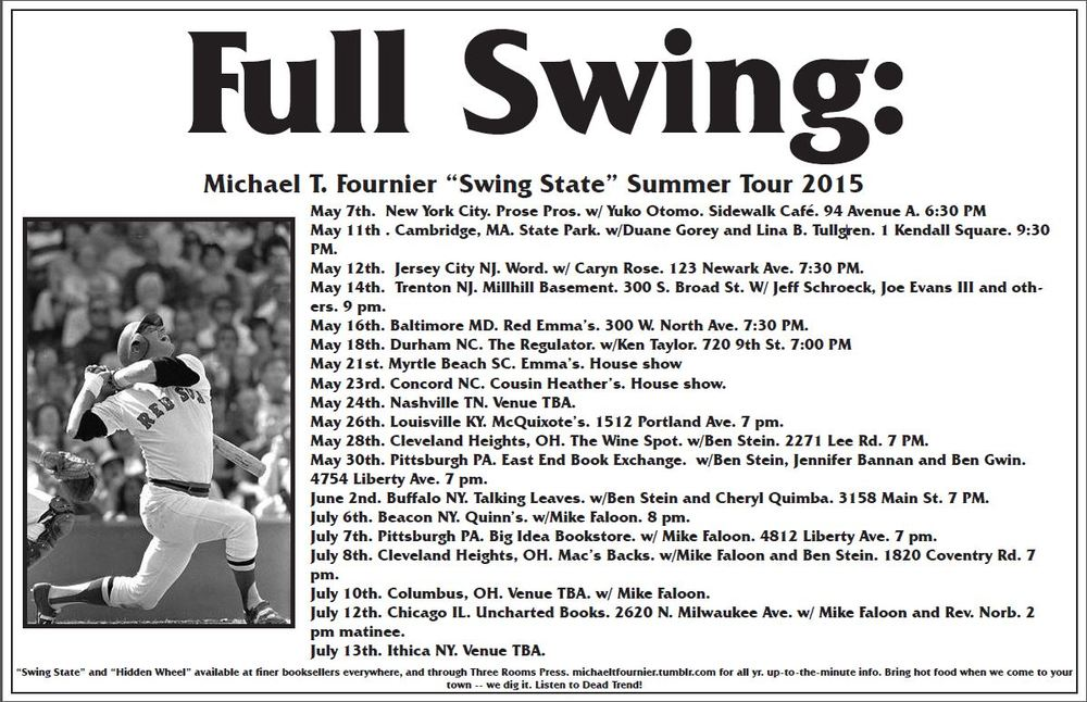 Full Swing 2015 summer tour. Get psyched!