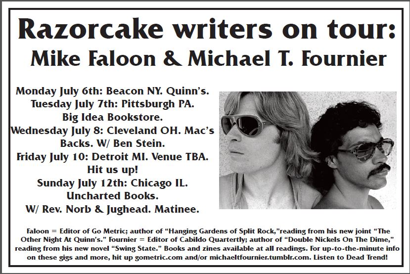 Faloon/Fournier midwest tour 2015.
