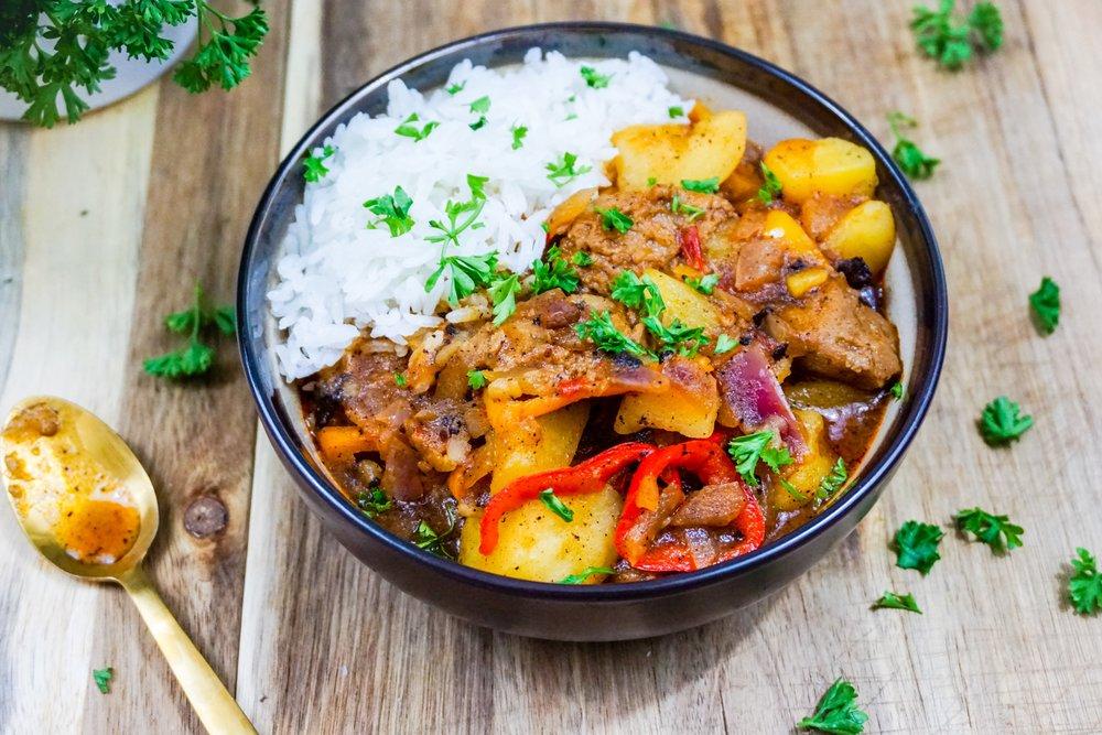 Vegan Beef Stew.