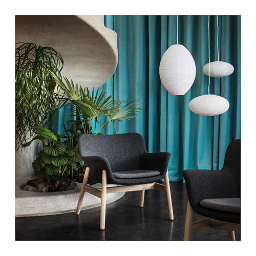 - Ultra modern and stylish. The VEDBO chair is simply a great seating option. This one is not available online, so you will definitely have to be on the lookout in stores.