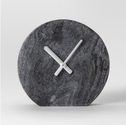 Marble Clock - $24.99. The marble trend is not going away and I don't mind.