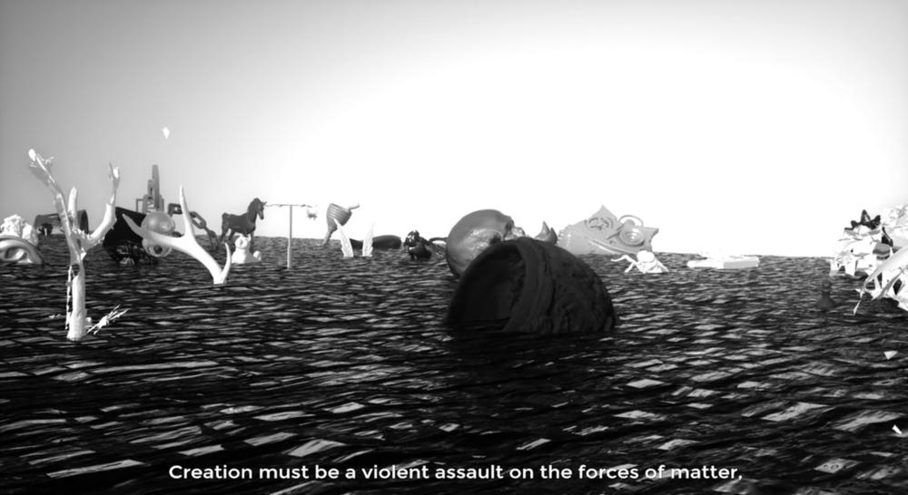 Moreshin Allahyari,     The 3D Additivist Manifesto     (2015-2016)    Image courtesy of artist