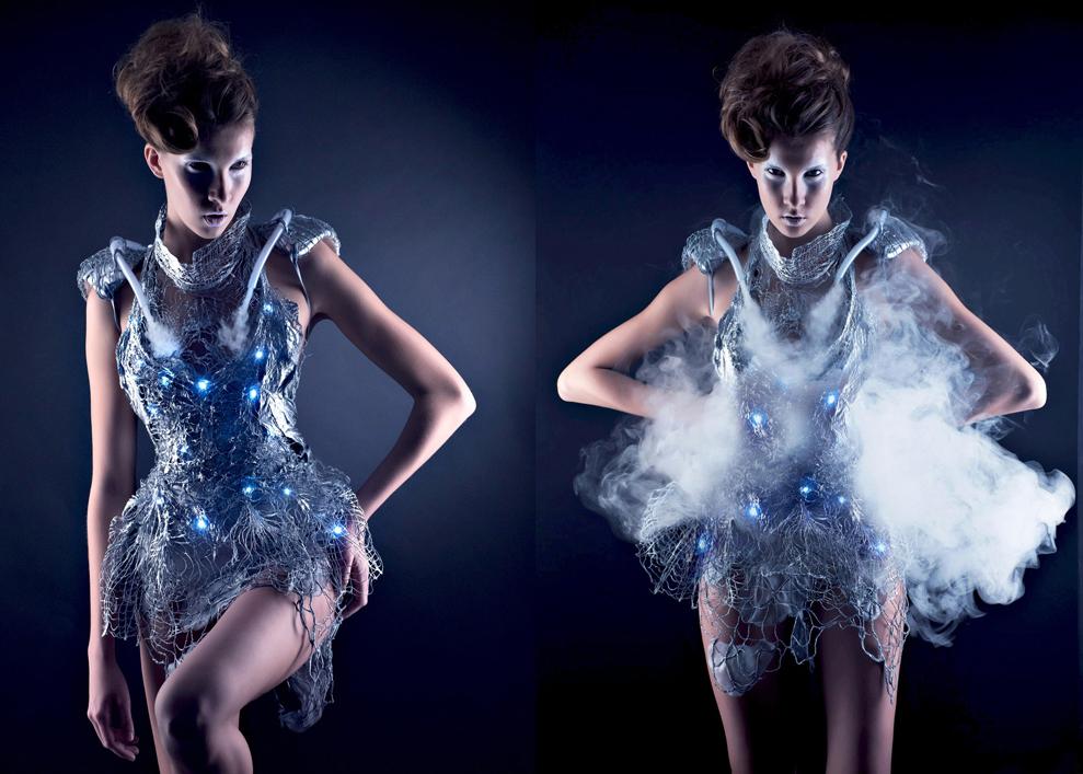 Smoke Dress — 21st Century Digital Art