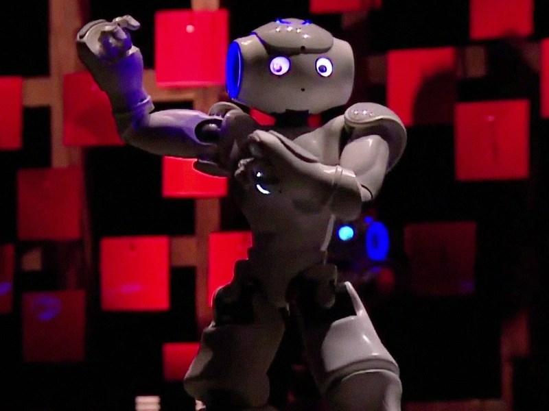 image from https://www.ted.com/talks/bruno_maisonnier_dance_tiny_robots?language=en