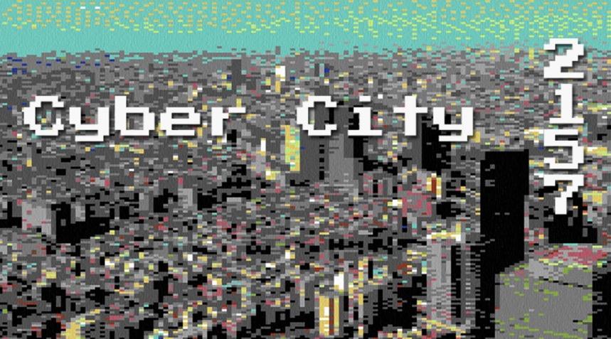 Image Courtesy of the Artist Harotobira. Cyber City 2157:( https://www.youtube.com/watch?v=XXt2OIlLlWI (2016))