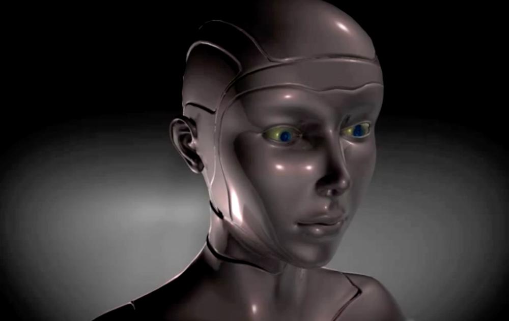 "Ken Rinaldo's Portfolio ""3-Story Robots"""
