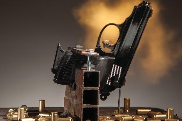Take A Bullet for The City, R. Luke Dubois