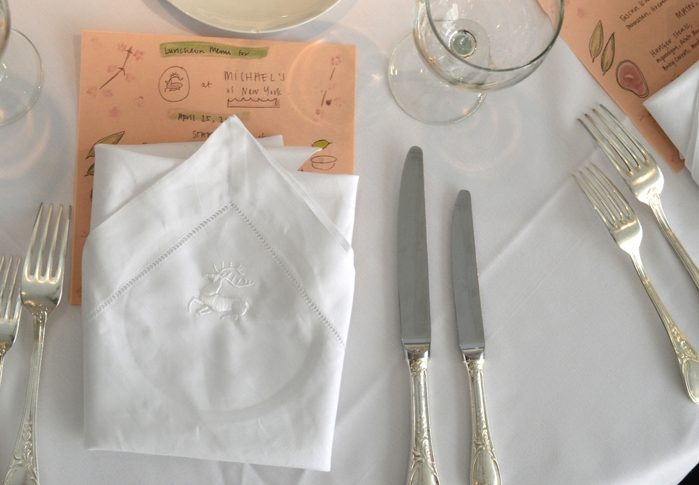 Victory Club Place Setting