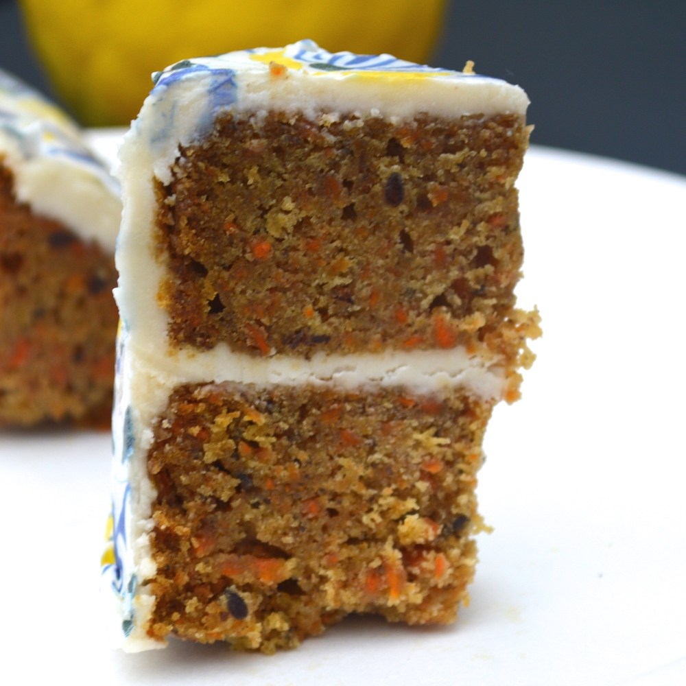 Vegan Gluten-Free Carrot Cake with  Amsterdam Chefanie Sheets