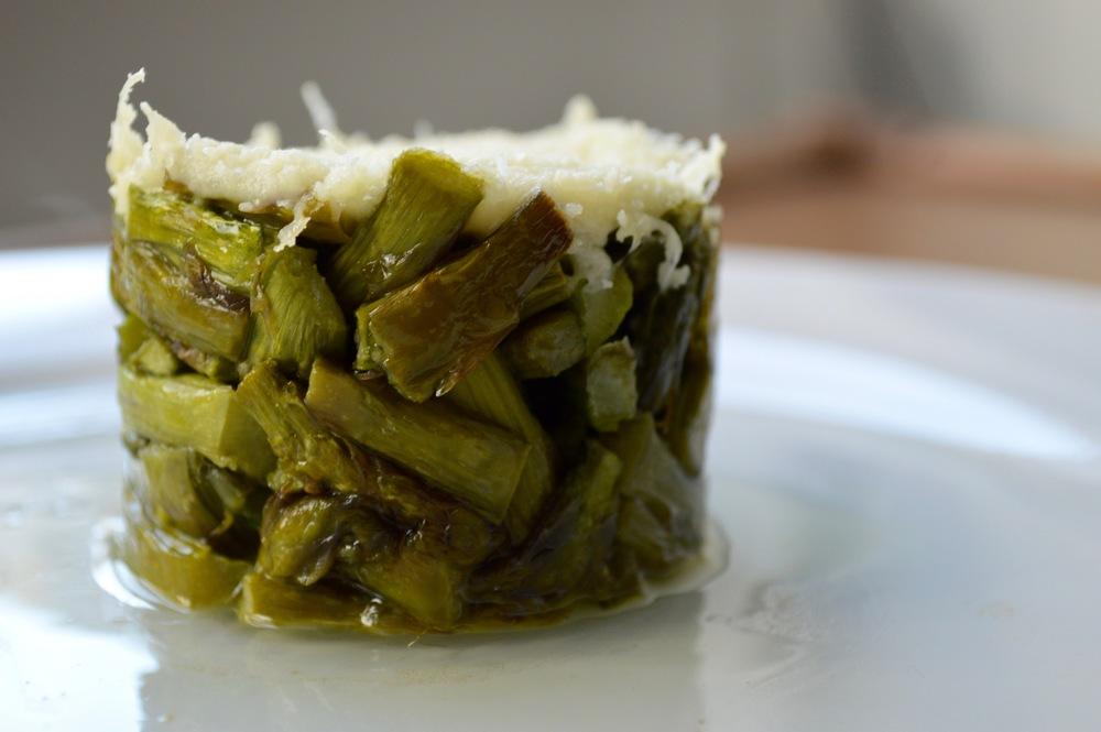 Asparagus Salad with Parmesan