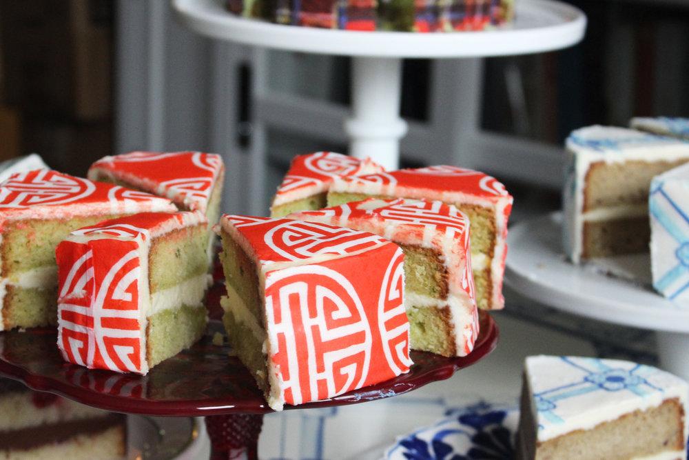 Zucchini Cake  with  Beijing #ChefanieSheet
