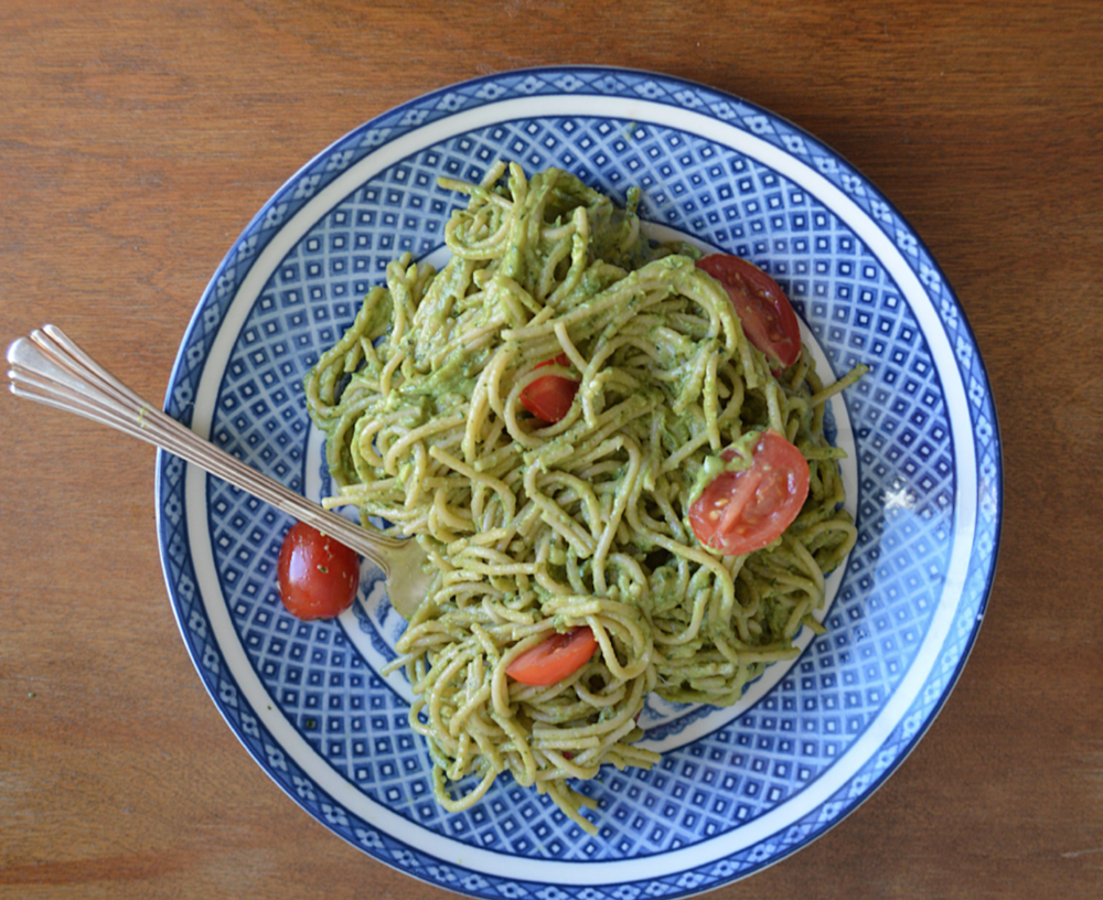 broccoli pesto chefanie stephanie nass