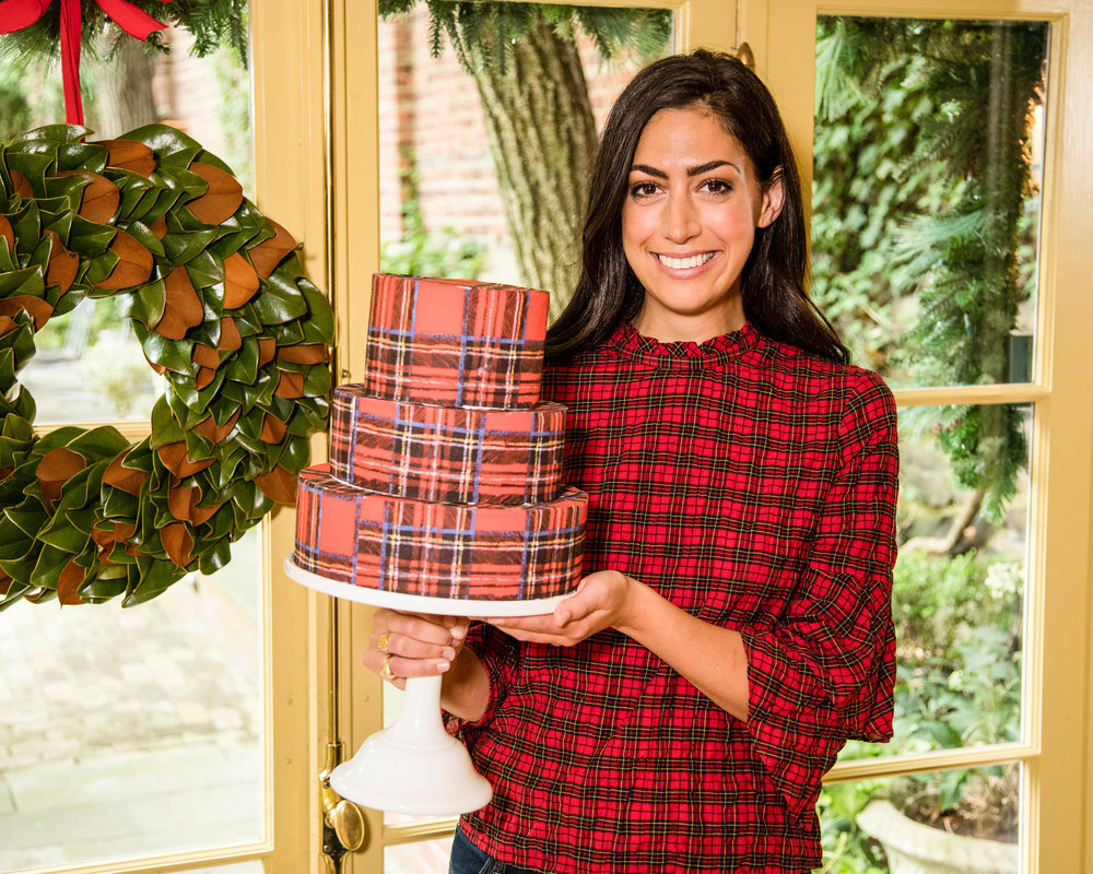 Chefanie Tartan Cakes