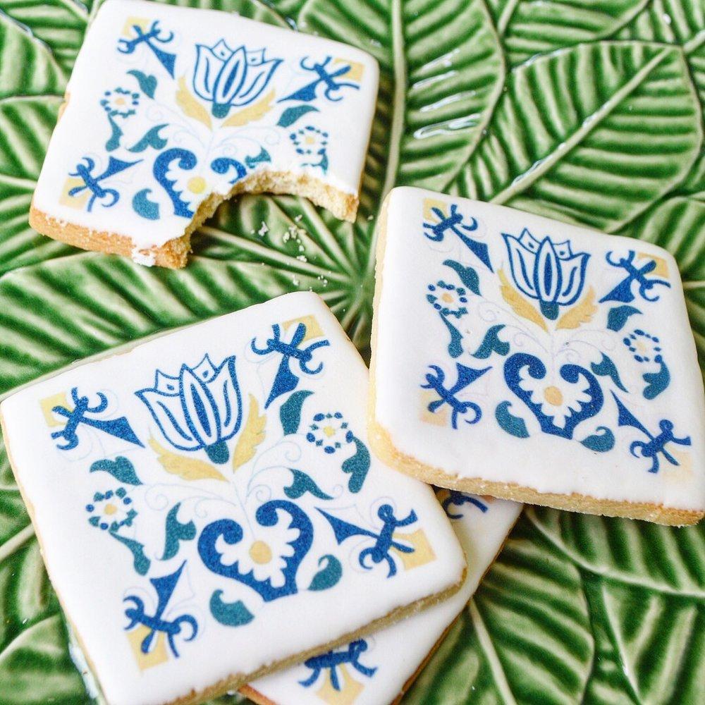 Chefanie Pattern Cookies