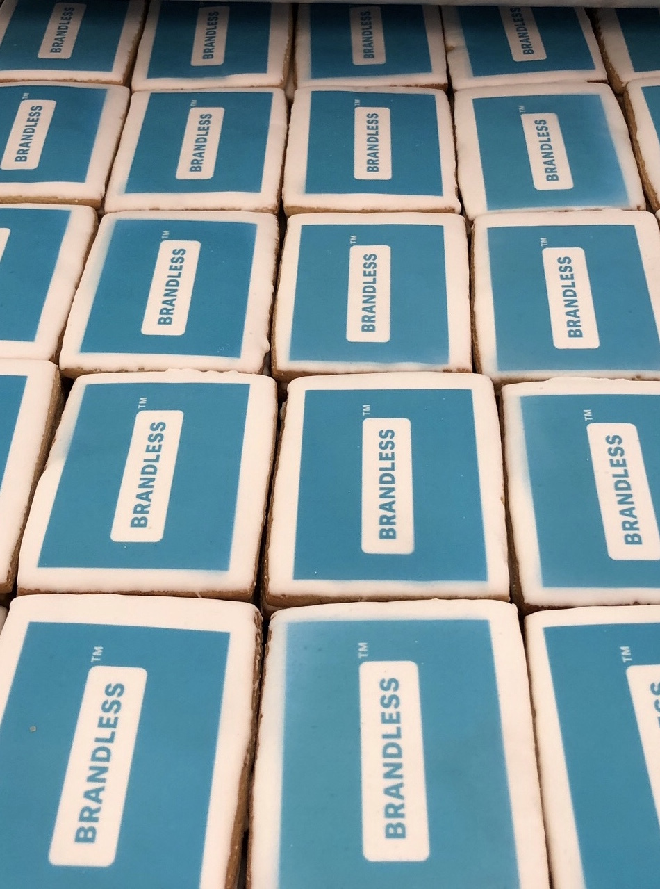 Blue Branded Brandless Cookies