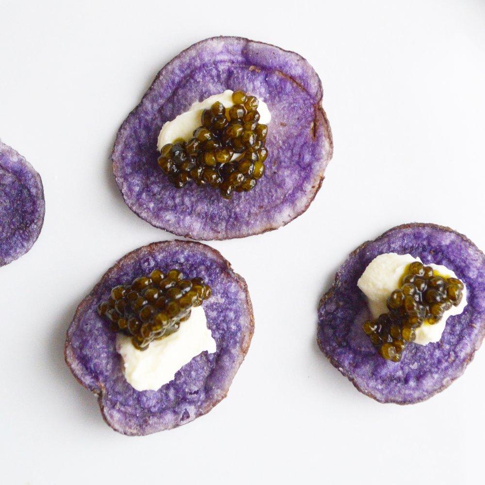 Chefanie Caviar Crisps