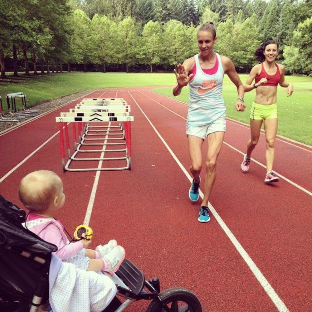 Julia Webb Nike Track