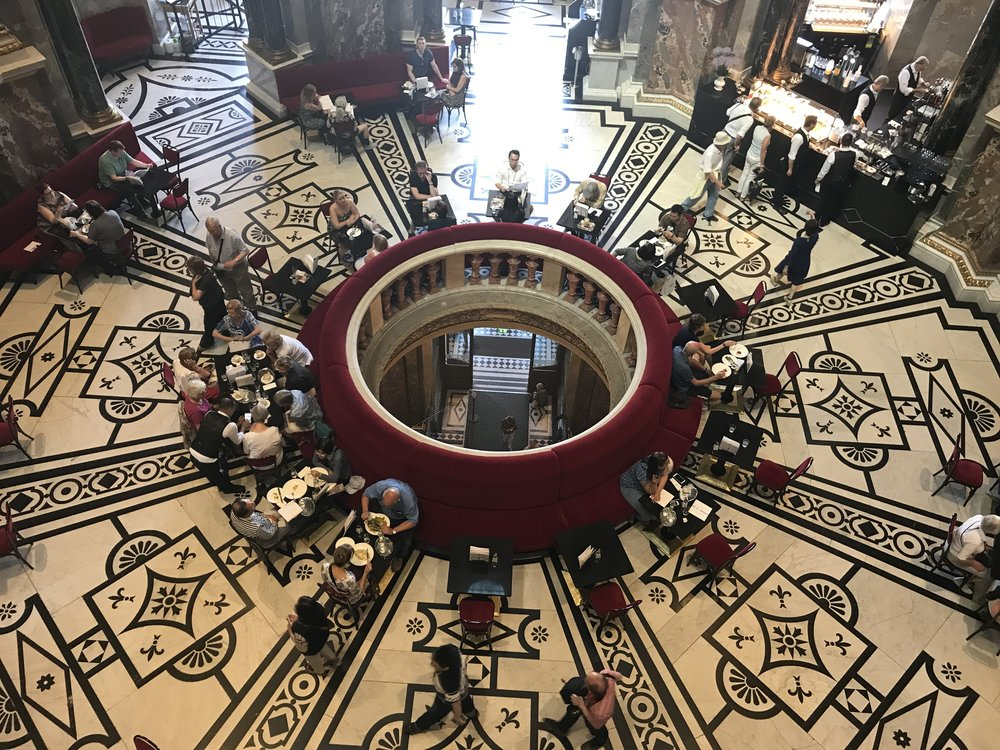 The cafe at Kunsthistorisches Museum Wien