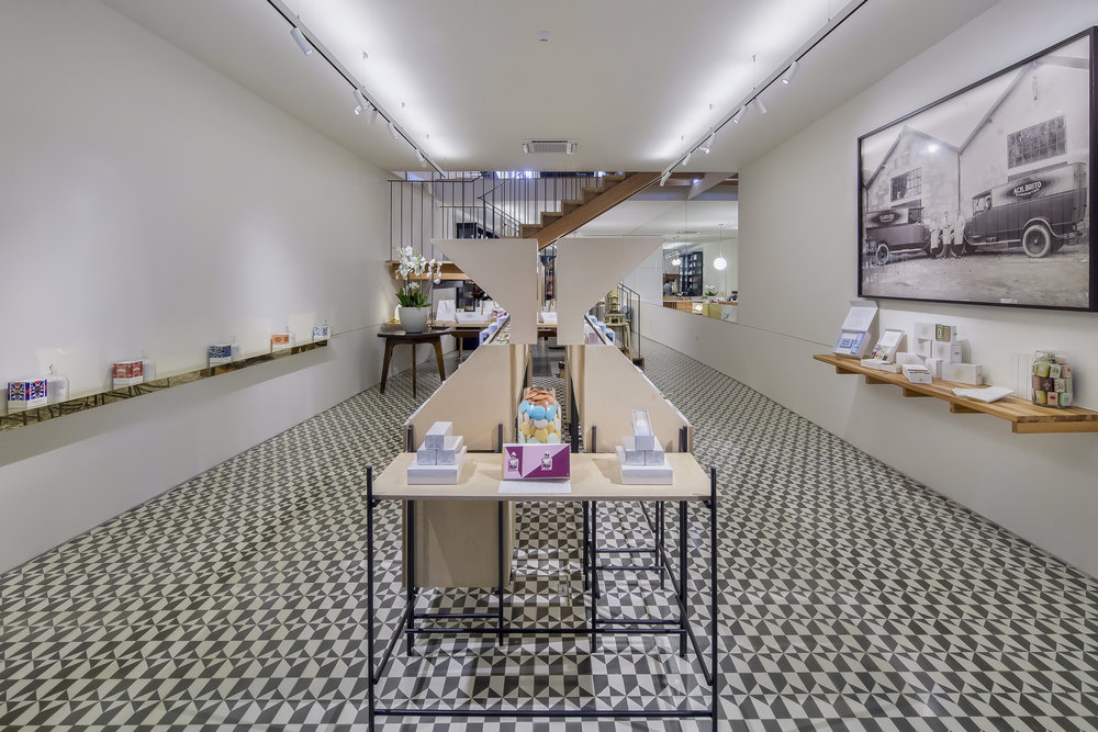 The first floor of the Claus Porto flagship store in Porto Photo credit: Claus Porto