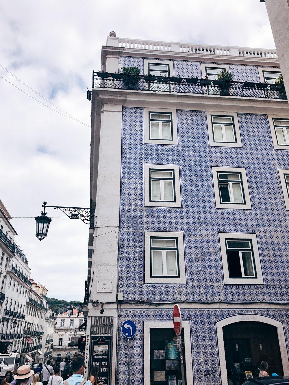 Image: Instagrammable Lisbon - Azulejo Tiles