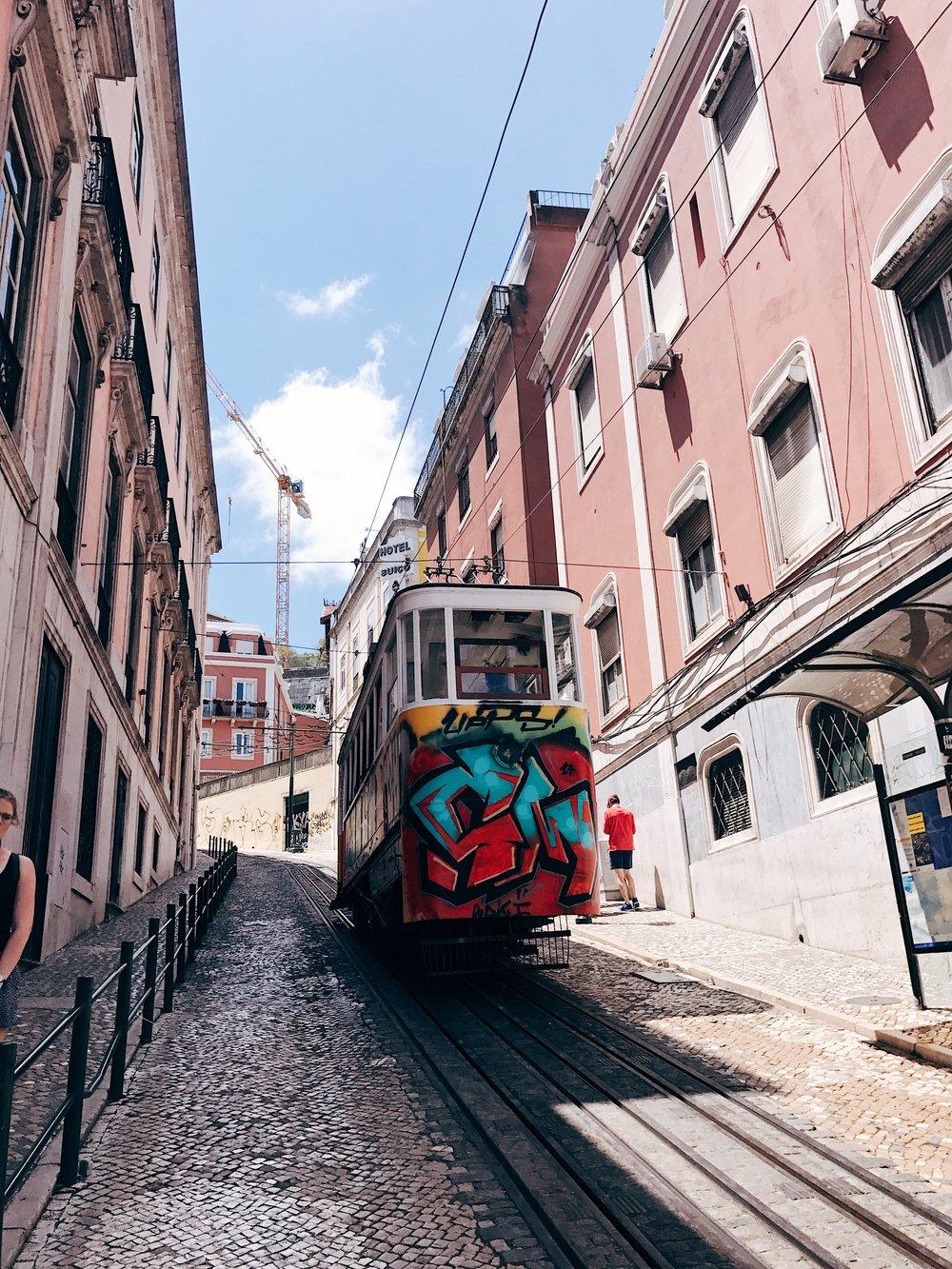 Image: Instagrammable Lisbon - Tram - Streetcar