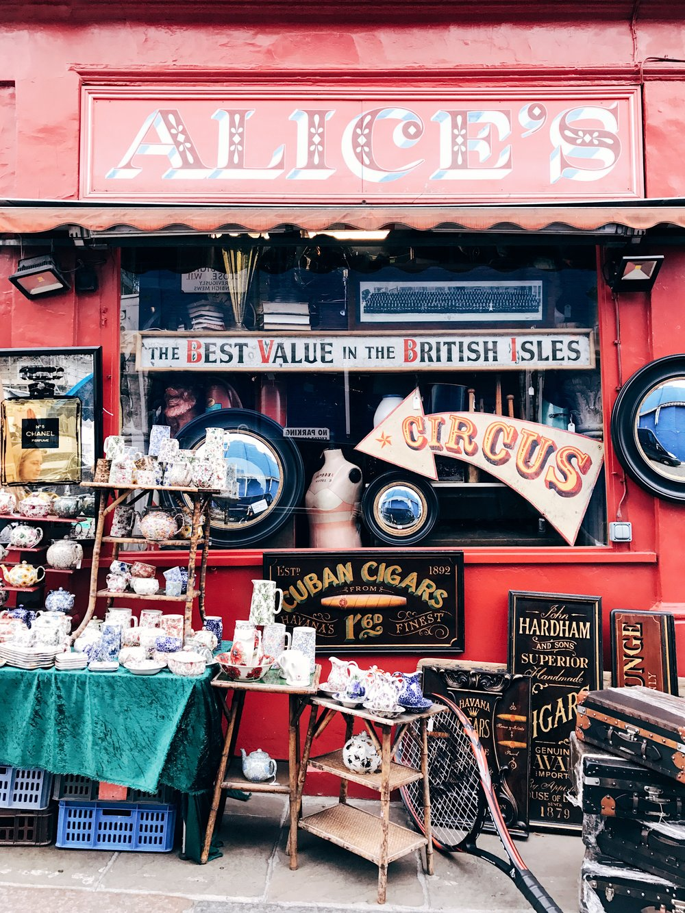 Image: Reasons to Visit London - Many Images to Inspire You to Visit London - Portobello Road