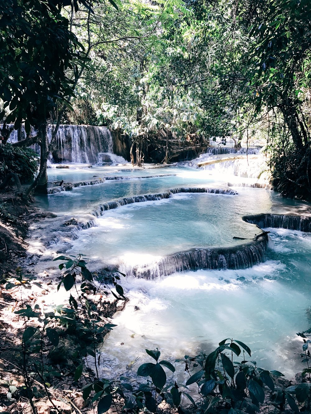 Image: Where to Travel in 2018 - Luang Prabang - Kuang Si Falls - Laos