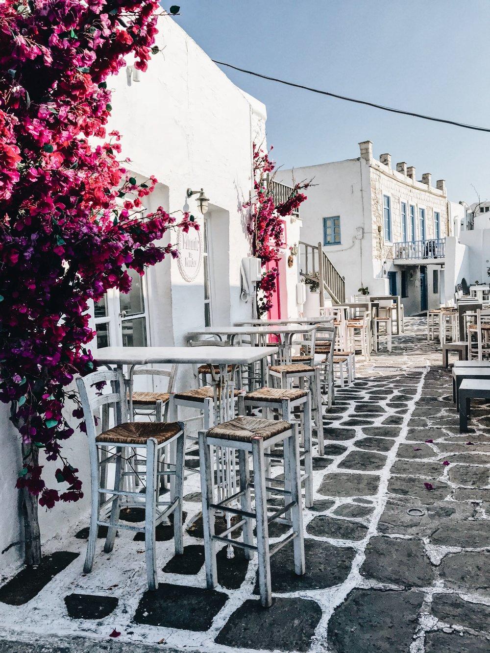Image: Naousa, Paros, Greece - Naousa Town