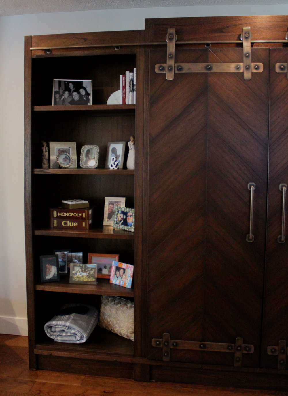 Evalia Design Blog_Bookcase Left Side.JPG