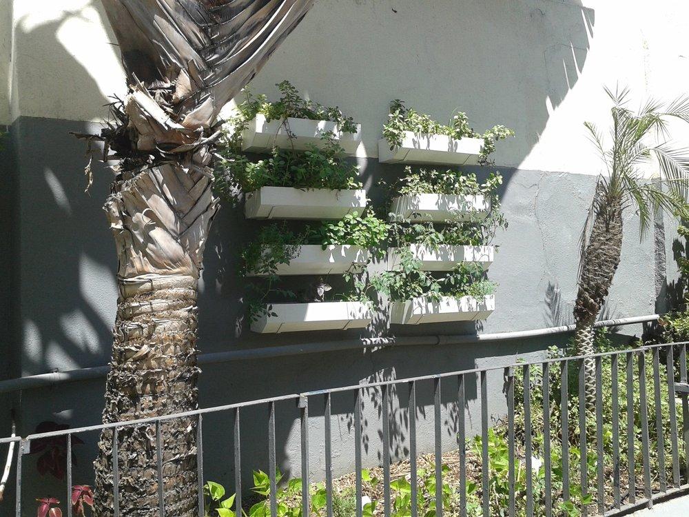 Área externa de um condomínio