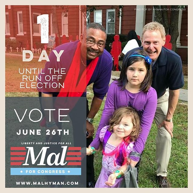 We're ready. ARE YOU? Make a plan to get to the polls tomorrow. We anticipate a close race, and value every single vote. Double your impact, vote with a friend. #yourvotematters #rockthevote #yourvoteisyourvoice #scpol #scvotes #bluewave #midterms2018