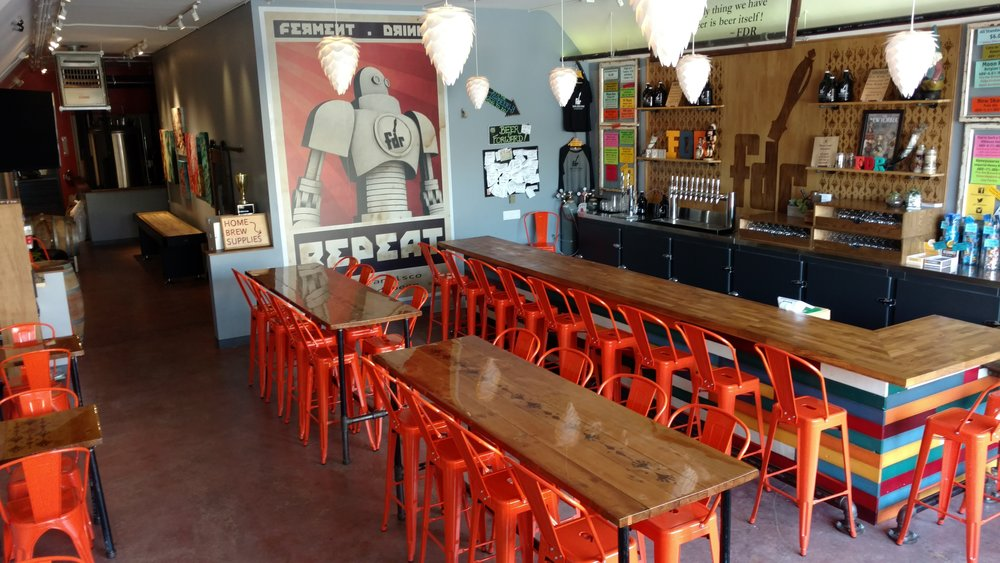 The FDR Tap Room ... the perfect spot for your private party or event, or your company work space for the day!