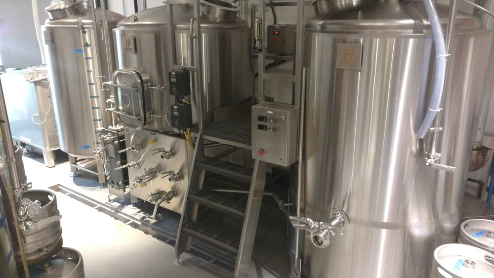 Brew With Us ... on this awesome 7-barrel brew system!