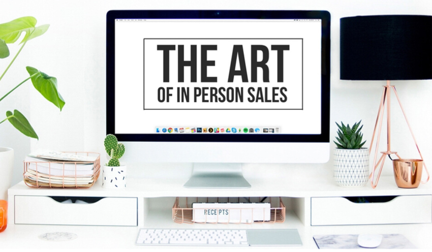 The Art of in person sales. A tool for photographers