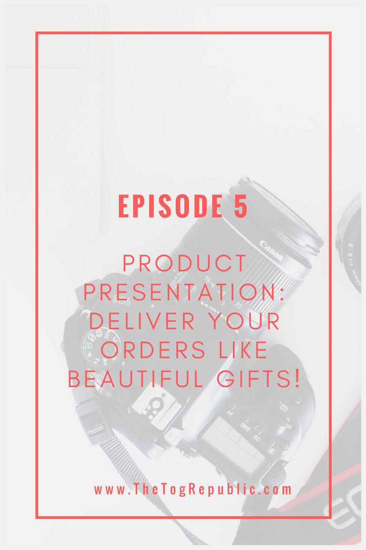 Product Presentation: Deliver your orders like beautiful gifts
