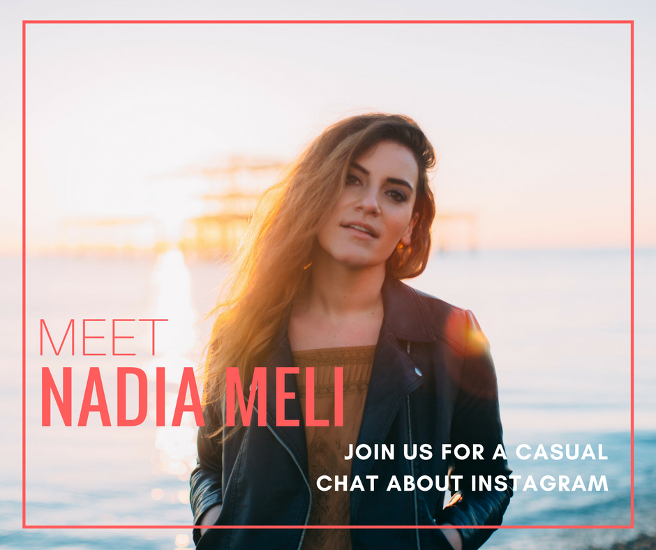 Podcast chat with Nadia Meli about Instagram