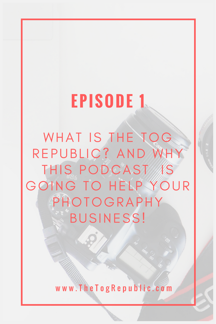 Episode 1 :: Welcome to The Tog Republic. Listen to this chat on itunes. Look for The Tog Republic