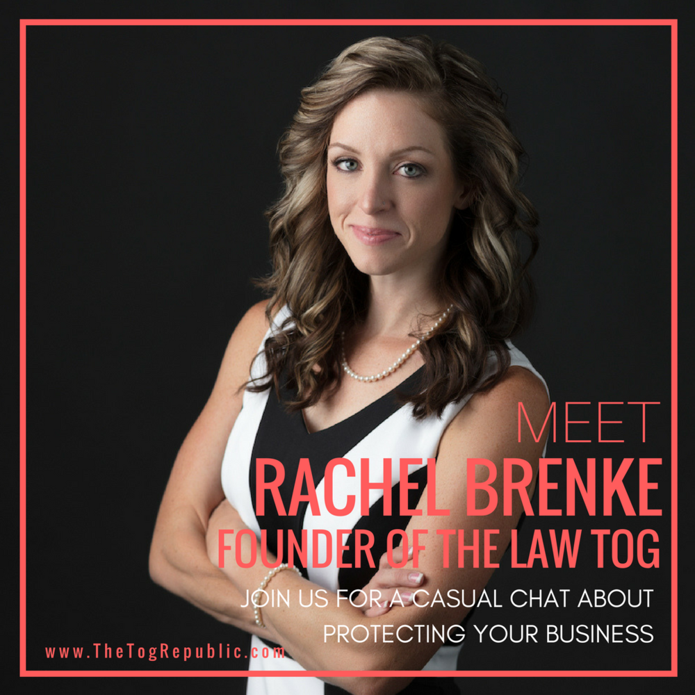 17: A Marketing Chat with Rachel Brenke Founder of The Law Tog