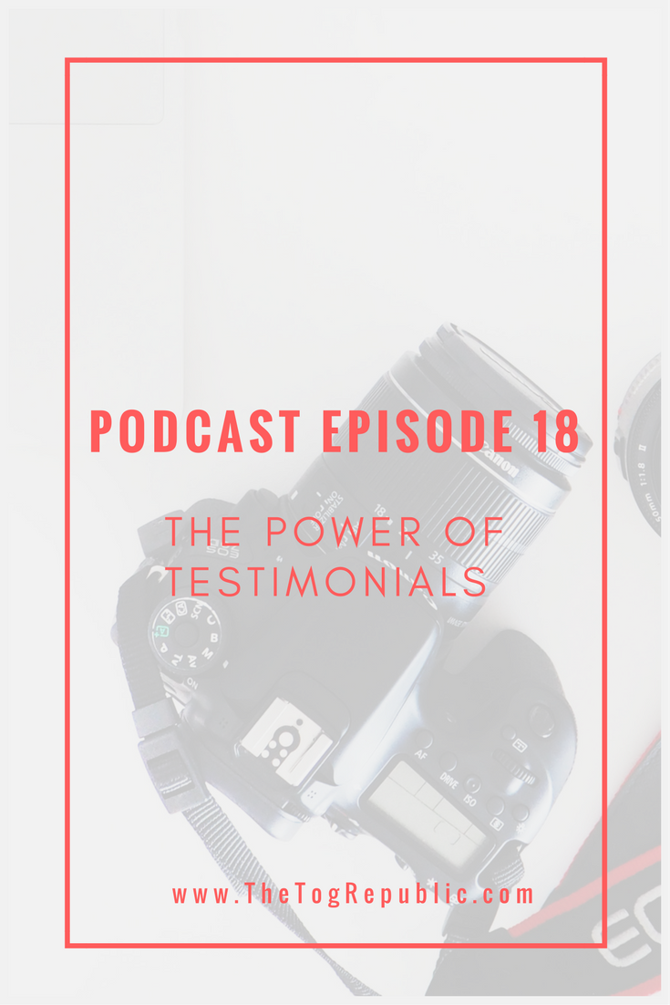 18: The Power of Testimonials
