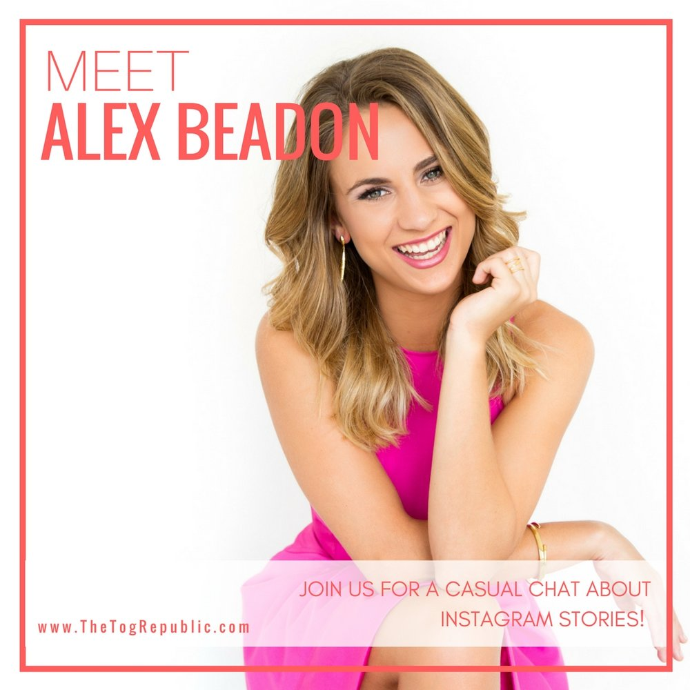 32: A Chat With Alex Beadon About Instagram Stories