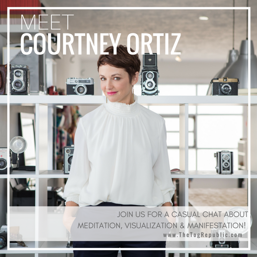 36: A Chat With Courtney Ortiz About Meditation & Manifestation