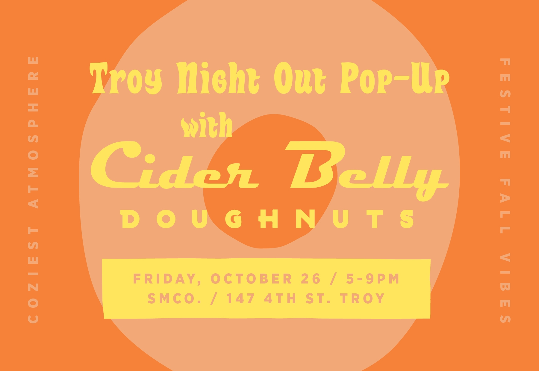 7f9478b98f23 Troy Night Out Pop-Up w  CIDER BELLY DONUTS