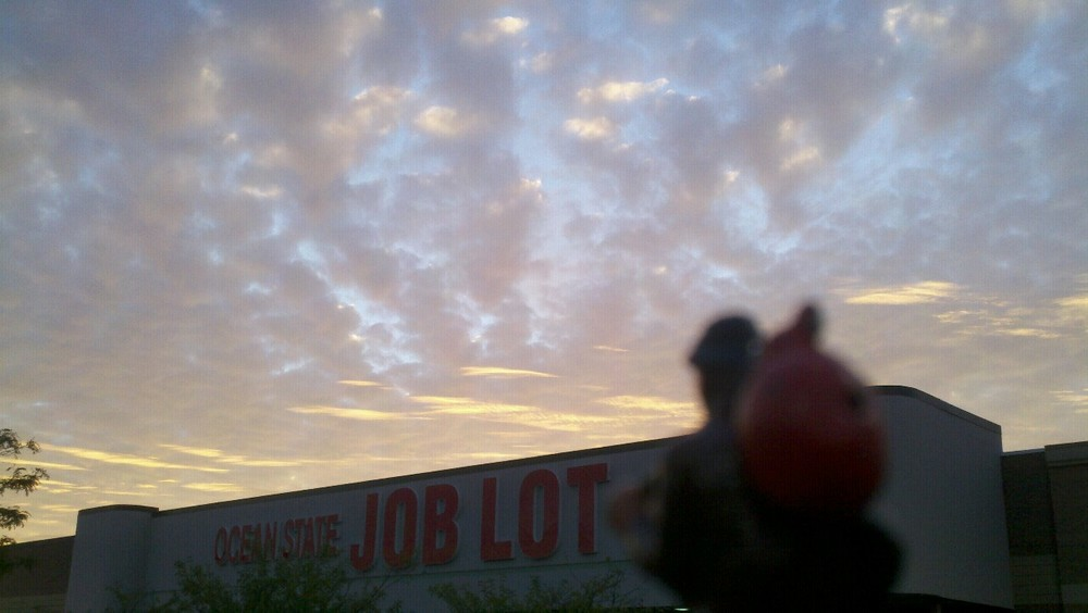 Big skies over a job lot