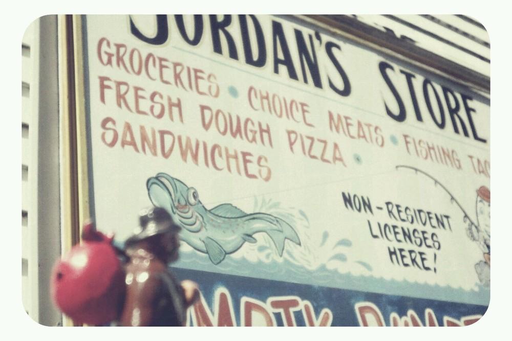 Jordan's…one stop vaca shop