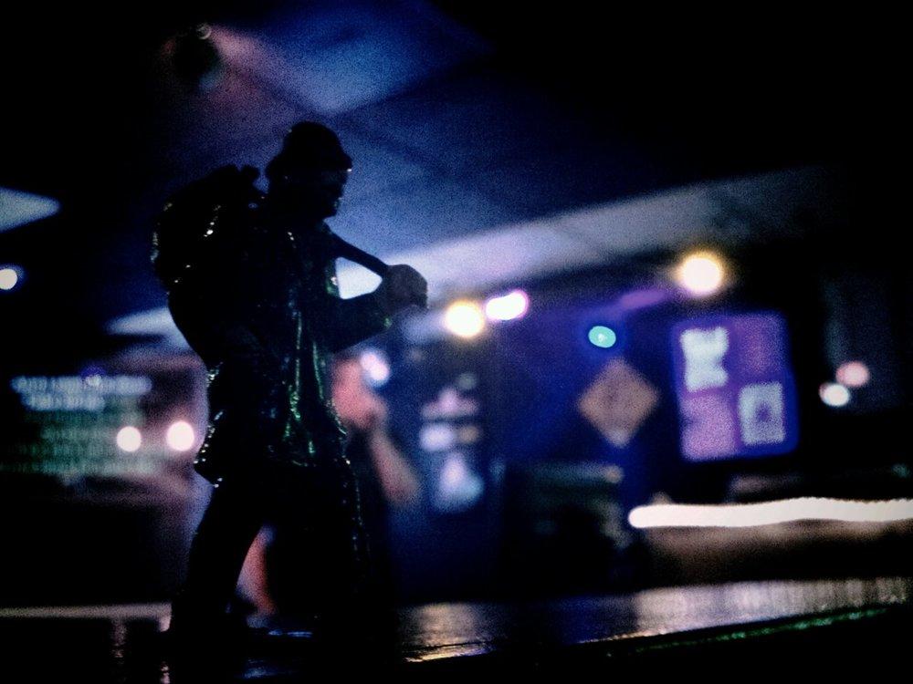 Townie karaoke…