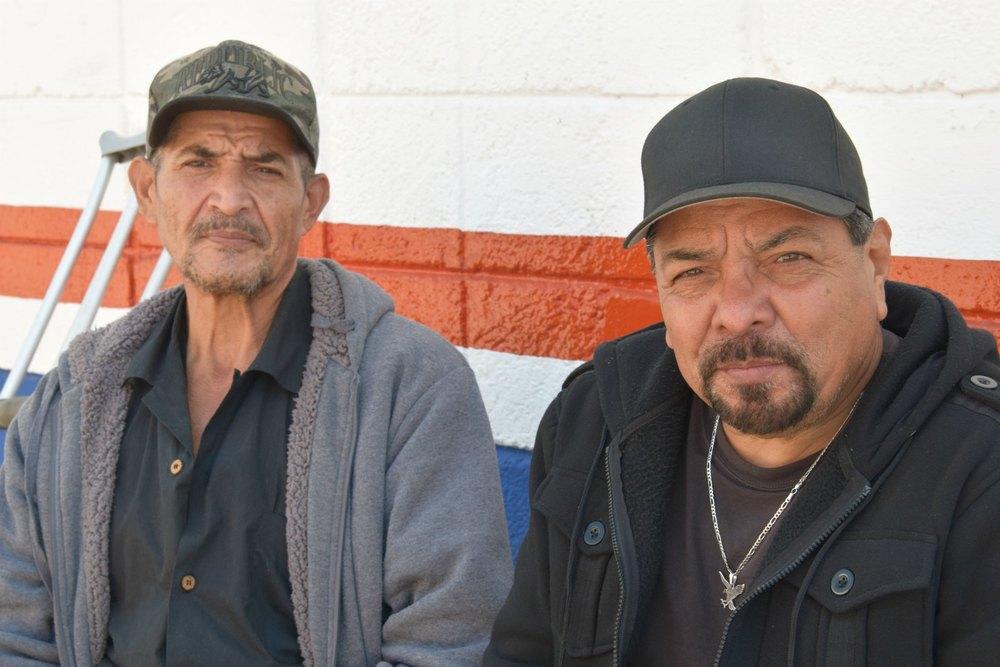 Pedro (right) and his brother, Armando.