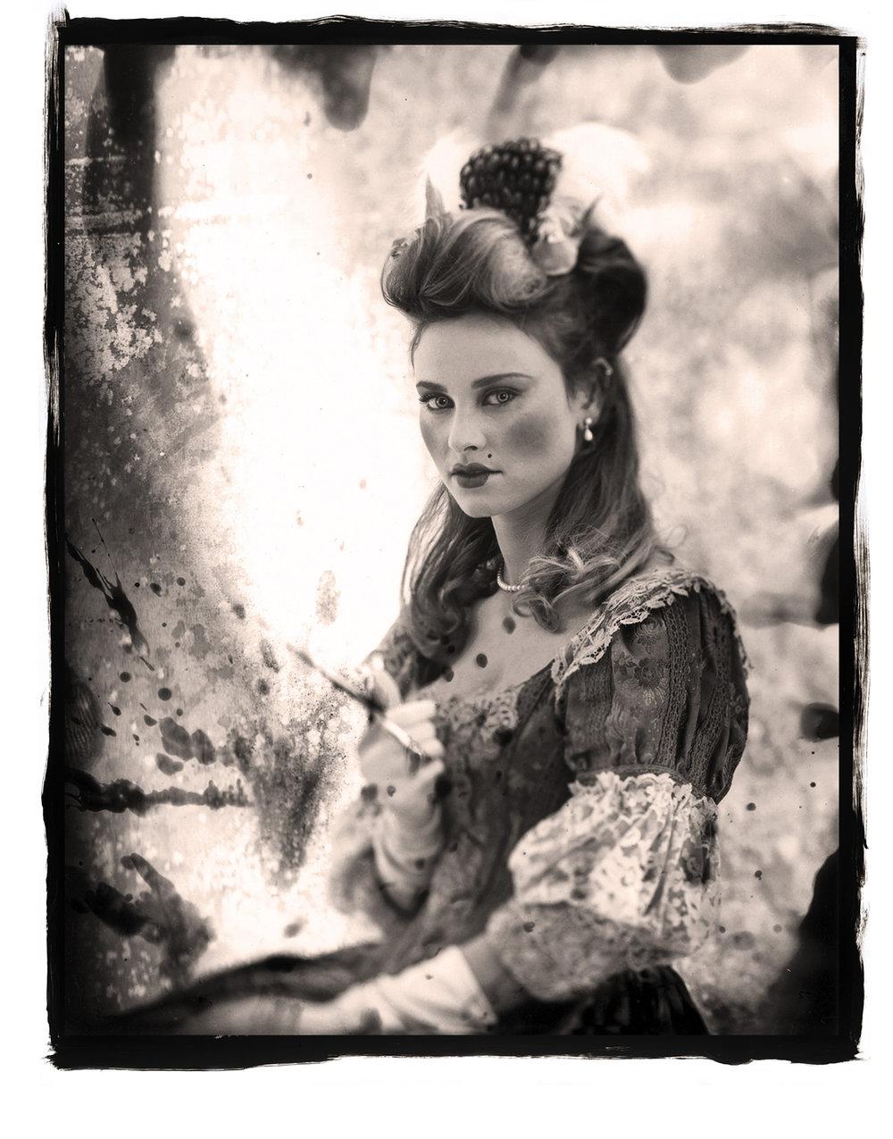 Princess collage by Kimball Hall
