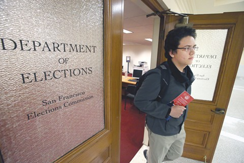 Youths seek to lower voting age to 16 in SF | Education | San Francisco | San Francisco Examiner
