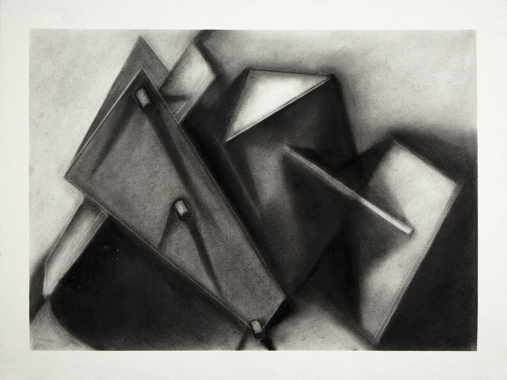 Assignment: Sculpture as Origin II : Introduction to Tonal Drawing